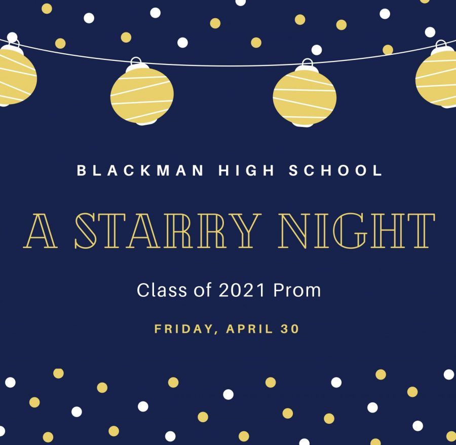 A Starry Night was the theme of Blackmans 2021 Prom.