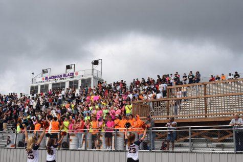 Blackman football season kicks off with the first pep rally since the COVID-19 pandemic
