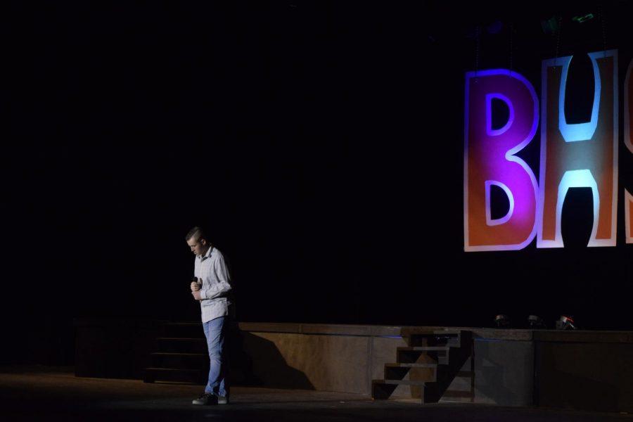 Ashton Buchholz performs Eye of the Storm by Ryan Stevenson.