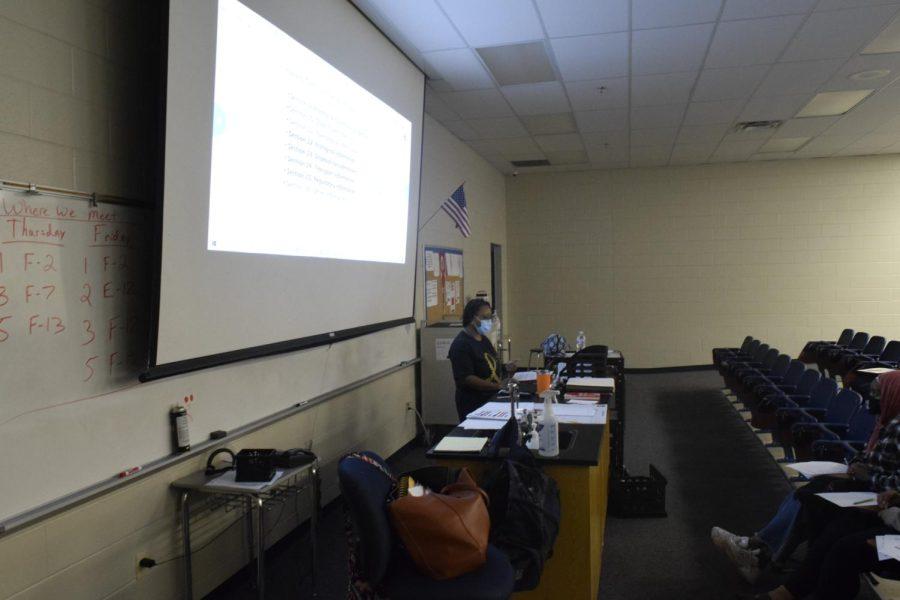 Dr. Jones teaches the OSHA regulations class.